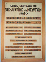 Plaque sainte justine